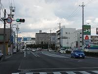 新正・日永方面(国道1号線)から車で