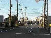 塩浜・楠方面(塩浜街道)から車で