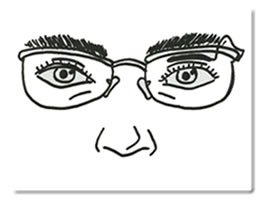 クラッチ眼鏡